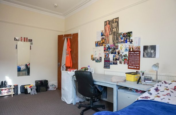 Clarendon Road, Leeds, Bedroom