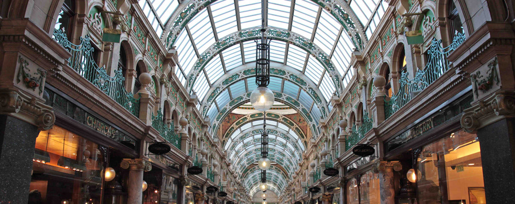 Victoria Quarter - a vibrant shopping district of Leeds