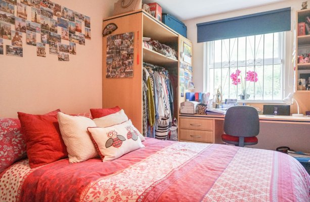 Double Bedroom, SJM Properties, Leeds Student Lets